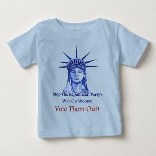 Stop The War On Women Baby T-Shirt