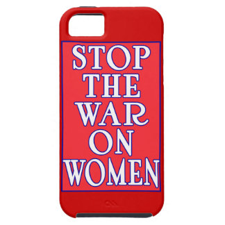 Stop the War On Women iPhone 5 Covers