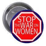 Stop the War on Women Pin