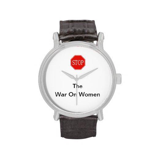 STOP the War On Women Watch