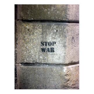 STOP THE WAR POSTCARD