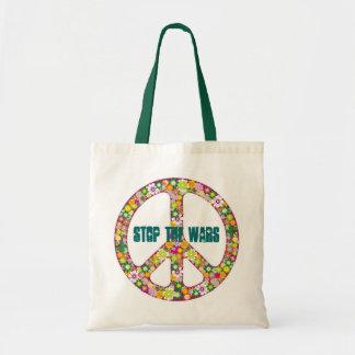 Stop The Wars Tote Bag