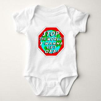 STOP the World! Baby Bodysuit