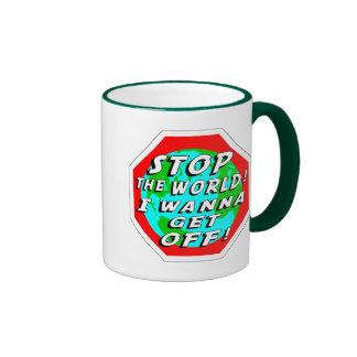 STOP the World! Ringer Mug