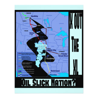 Stop the XL Pipeline Extension Flyers