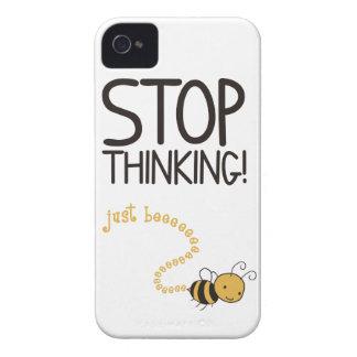 Stop thinking! iPhone 4 fundas