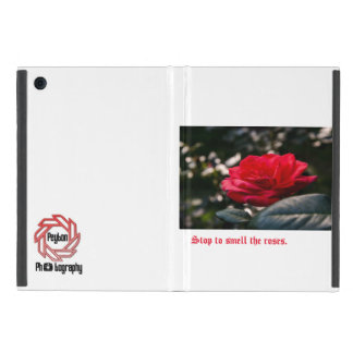 Stop to smell the roses iPad mini case
