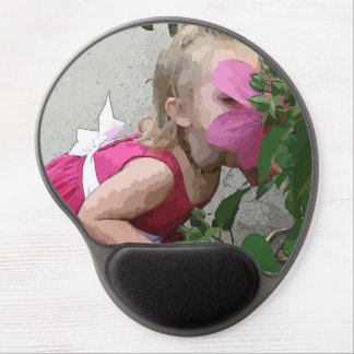 Stop to Smell the Roses Mouse Pad Gel Mouse Pad