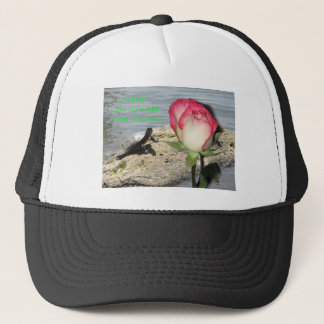 """""""Stop To Smell The Roses"""" Trucker Hat"""