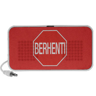Stop, Traffic Sign, Malaysia Portable Speaker