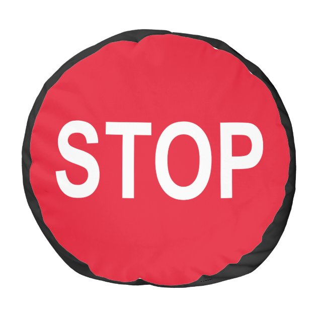 Stop Traffic Sign Name Your Round Pouf  Zazzle. Month 2016 Signs. Paralysis Signs Of Stroke. Dark Blue Signs. Foot Callus Signs. Scales Signs. Red Spots Signs. Differential Diagnosis Signs Of Stroke. Moth Signs