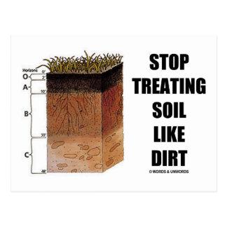 Stop Treating Soil Like Dirt (Soil Horizons) Postcards