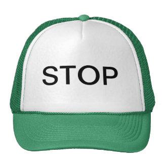 STOP TRUCKER HAT