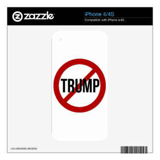 Stop Trump Skin For The iPhone 4S