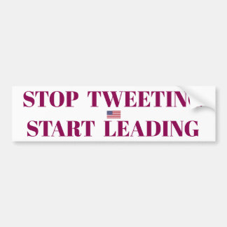 Stop Tweeting Sticker