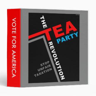 Stop Unfair Taxation 3 Ring Binder