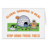 Stop Using Fossil Fuels Cards