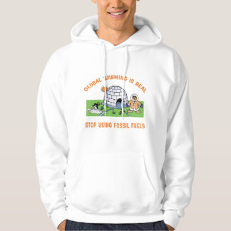 Stop Using Fossil Fuels Hoodie