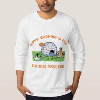 Stop Using Fossil Fuels T Shirt