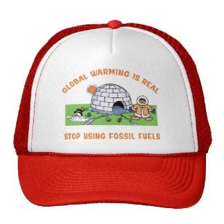 Stop Using Fossil Fuels Trucker Hat