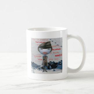 Stop using FUR! Coffee Mug