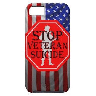 Stop Veteran PTSD Iphone Cases iPhone 5 Case