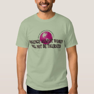 STOP VIOLENCE AGAINST WOMEN TEE SHIRT