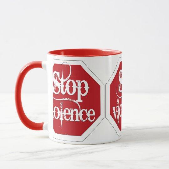Stop Violence Mug