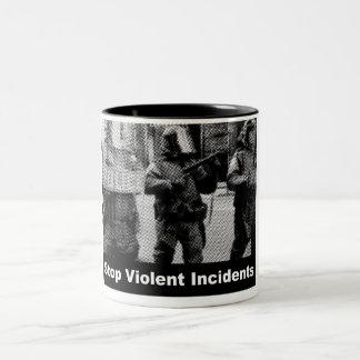 Stop Violent Incidents Mugs