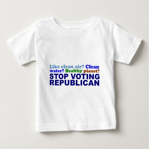 STOP VOTING REPUBLICAN T SHIRTS