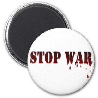 Stop War 2 Inch Round Magnet