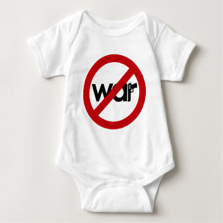 Stop War Baby Bodysuit
