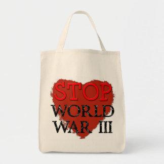 Stop War Bag! Tote Bag