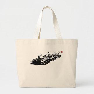 Stop War Large Tote Bag