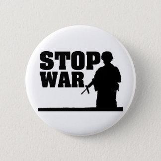 Stop War Pinback Button