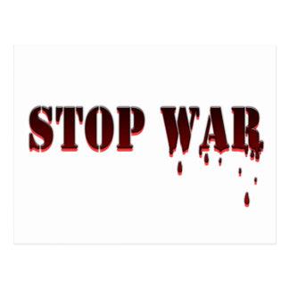 Stop War Postcard