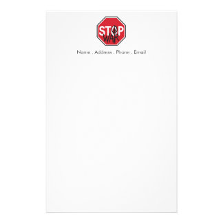 Stop War Stationery