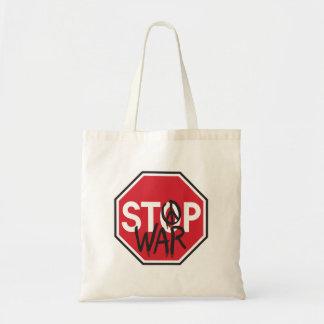 Stop War Tote Bag