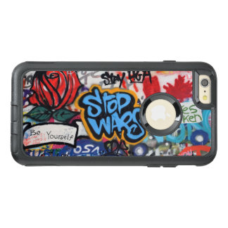 Stop Wars graffiti OtterBox iPhone 6/6s Plus Case