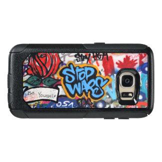 Stop Wars graffiti OtterBox Samsung Galaxy S7 Case