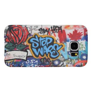 Stop Wars graffiti Samsung Galaxy S6 Case