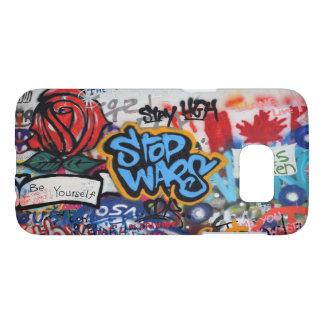 Stop Wars graffiti Samsung Galaxy S7 Case