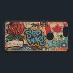 "Stop Wars graffiti Wood Nexus 6P Case<br><div class=""desc"">Stop Wars graffiti. Blue Stop Wars text and red rose.</div>"