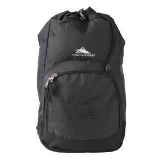 Stop Wars High Sierra Backpack