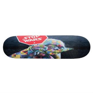 Stop Wars Skateboard - Wynnwood