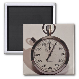 Stop watch refrigerator magnets