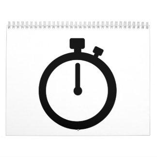 Stop watch time calendar