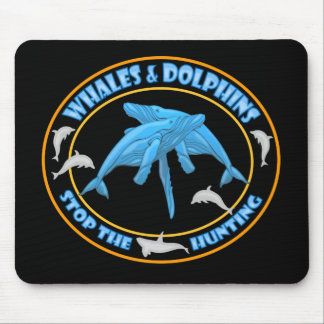 Stop Whale Hunting Mouse Pad