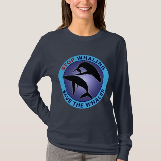 Stop Whaling Save The Whales T-Shirt