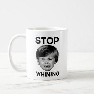 Stop Whining Classic White Coffee Mug